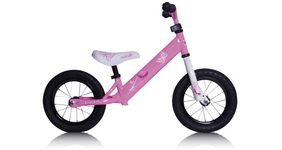 """Rebel Kidz Air - Draisienne Enfant - 12,5"""" Schmetterling rose"""